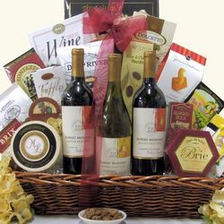 Robert Mondavi Private Selection Trio Wine Gift Baskeet