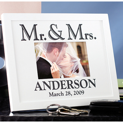 Personalized Wedding/Anniversary Wood Frame