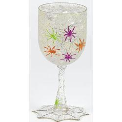 Spider Glitter Goblets