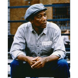 Morgan Freeman Photograph from 'The Shawshank Redemption'