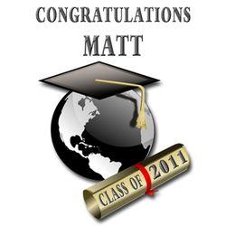 Personalized Graduation Wine Label