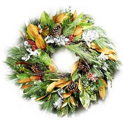 Southern Charm Holiday Wreath