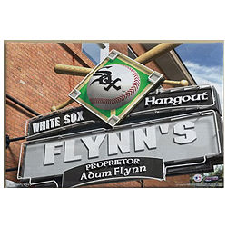 Chicago White Sox Personalized Sign 16x24 Print