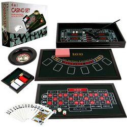 4-in-1 Casino Game Table