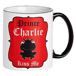 Prince Kiss Me Personalized Mug