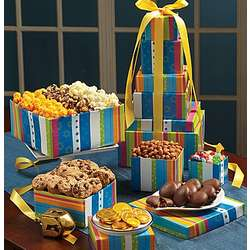 5 Tier Happy Hanukkah Snack Tower