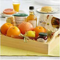 Sunday Brunch Tray with Get Well Ribbon