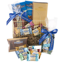 Golden Ghirardelli Basket