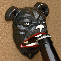 Butch the Bulldog Cast Iron Bottle Opener