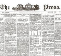 Custer's Last Stand Historic Newspaper Set