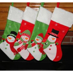 Personalized Cheery Christmas Stocking