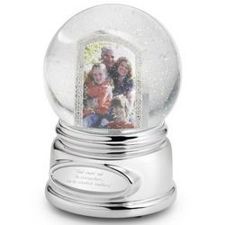 Photo Musical Snow Globe