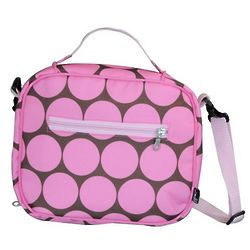 Big Dots Pink Lunch Bag