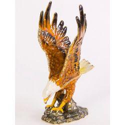 Majestic Bald Eagle Trinket Box