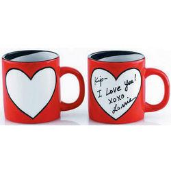 Do-It-Yourself Heart Mug