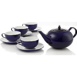 Royal Sapphire Bone China Tea Set