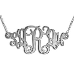 Vintage Monogram Necklace