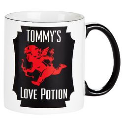 Love Potion Personalized Cupid Mug