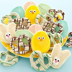 Easter Pretzels and Cookies Gift Set
