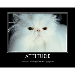 Attitude Personalized Art Print