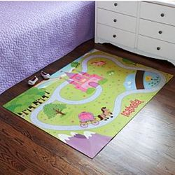 Personalized Princess Kingdom Playmat