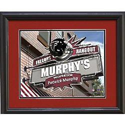 Personalized Atlanta Falcons Pub Print