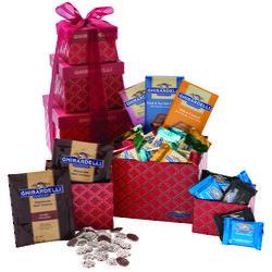 Sweet Jubilee 3-Tier Chocolate Gift Tower