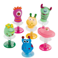 Monster Pop-Up Toy Set