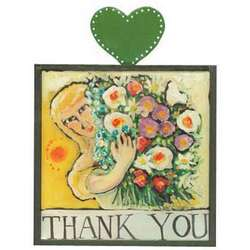 Thank You Art Plaque