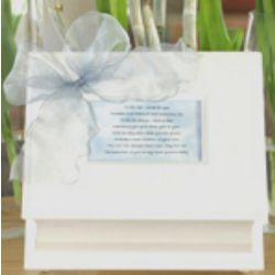 Blue Memory Box for Baby Boy