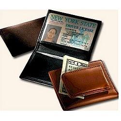 Magnetic Money Clip Card Case