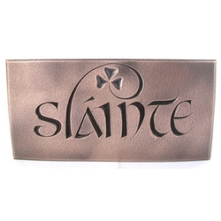 Slainte Bronze Plaque
