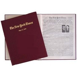 Israel is Born New York Times Personalized Commemoration Book