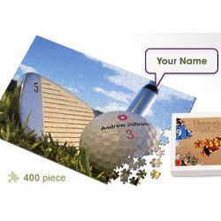 Personalized Golf Ball Jigsaw Puzzle
