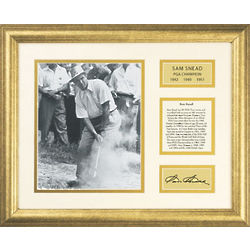 Sam Snead Golfer Framed Wall Art
