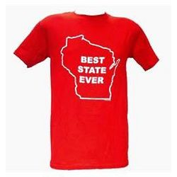 Wisconsin Best State Adult T-Shirt