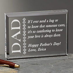 Father Like No Other Personalized Plaque