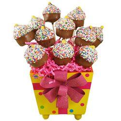 Cupcake Cake Pops Gift Pail