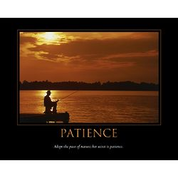 Patience Personalized Art Print