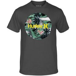 Charcoal Flammo Tropical T-Shirt