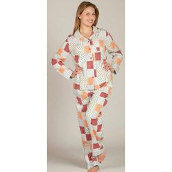 Quilt Style Flannel Pajamas