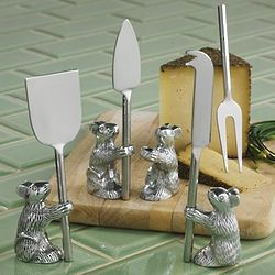 Mouse Cheese Knife Set