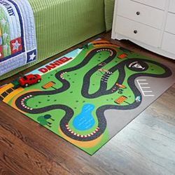 Personalized Race Track Playmat