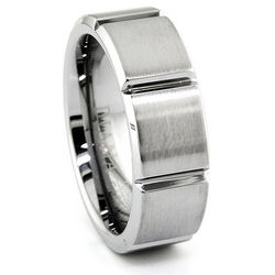 Men's Matrix Tungsten Ring