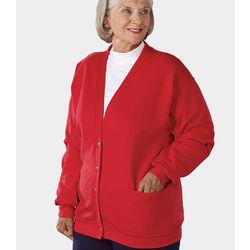 Women's Fleece Two Pocket Cardigan