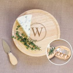 Personalized Cheese Board Set