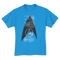 Star Trek Spacecrafts T-Shirt