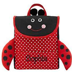Personalized Ladybug Little Critter Lunch Bag