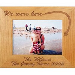 We Were Here 5x7 Vacation Frame