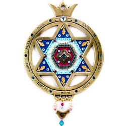 Hanging Pomegranate Medallion